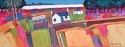 By the Sea by David Body -  sized 31x12 inches. Available from Whitewall Galleries